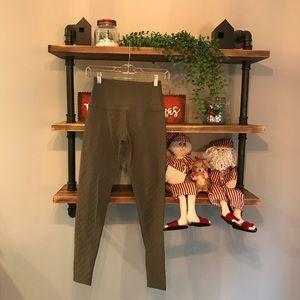 Beyond Yoga Hunter Green Quilted Leggings